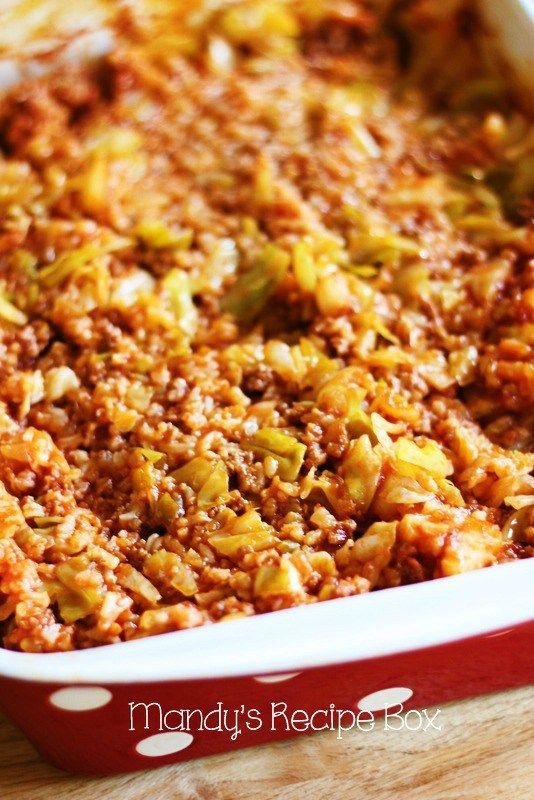 Cabbage Roll Casserole is all the deliciousness of Cabbage Rolls without the work. In 10 minutes you can have this dish in the oven. It's going to change your world!