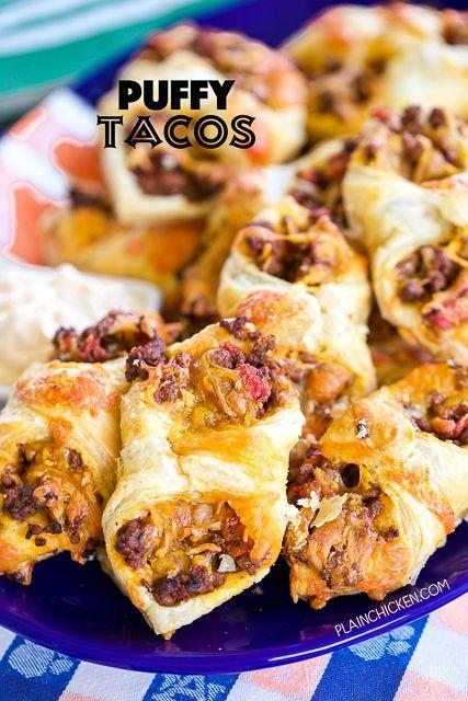 Puffy TacosReally nice recipes. Every hour.Show me what you  Mein Blog: Alles rund um die Themen Genuss & Geschmack  Kochen Backen Braten Vorspeisen Hauptgerichte und Desserts # Hashtag