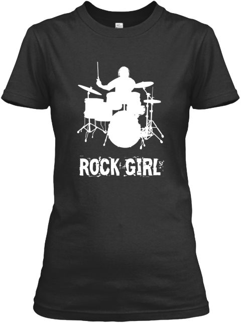 Available size: S-3XL  Designed & Printed in the USA -  Order here: https://teespring.com/rock-girl-2 #womens #girl #tshirt #shirt #fashion #design #2016