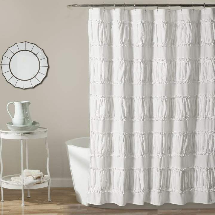 Ophelia Co Keels Single Shower Curtain With Images Ruffle