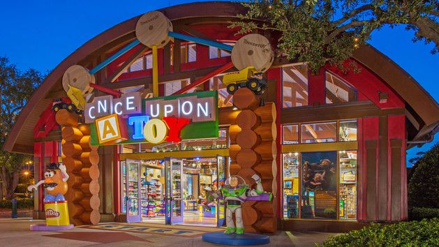 Once upon a toy in downtown Disney