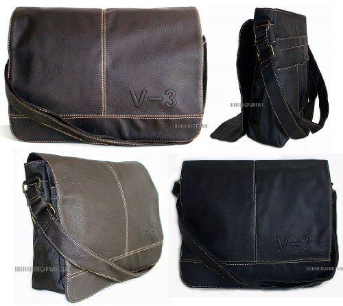 Men's Messenger Bag (V3) in Black or Brown Cross Body/Shoulder Bag, http://www.amazon.co.uk/dp/B00AYEF87W/ref=cm_sw_r_pi_awdl_wik8tb16KT7JA