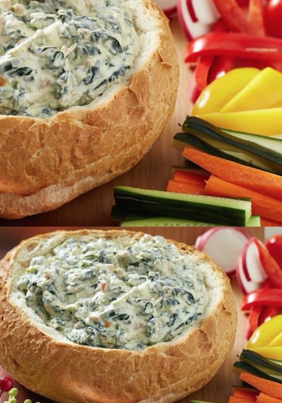 You are going to love this Spinach Cob Dip Sour Cream Recipe and it's the perfect Appetizer for easy entertaining. This is a favorite you'll love.
