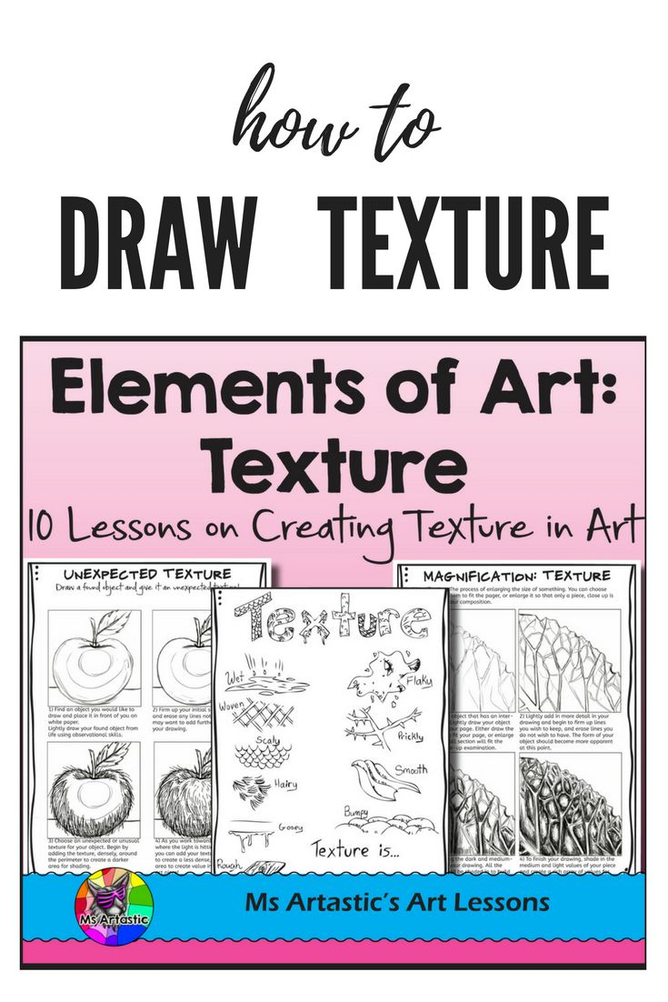 Art Teacher Worksheets : Elements of art texture lessons high school