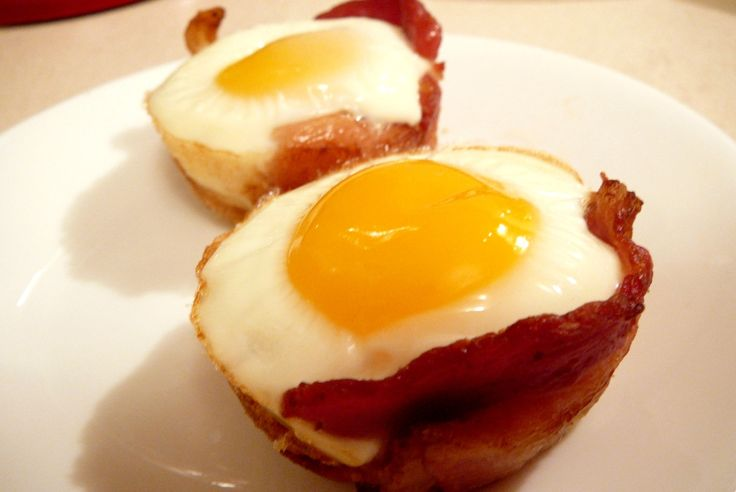 Bacon and Egg Muffin Cups | Recipes | Pinterest