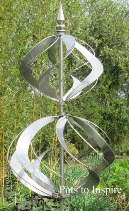 Wonderful Jonart Wind Spinner Elizabethan Metal Garden Sculpture   Woodside Garden  Centre   Pots To Inspire