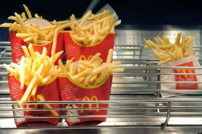 Lisez cet article et... vous ne devriez plus manger de frites de chez McDo