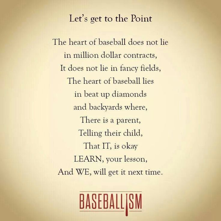 Heart Of Softball Baseball Favorite Quotes E Cards Etc