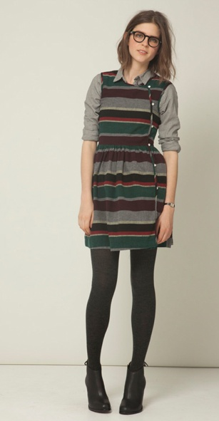 schoolgirl chic , this is so schoolgirl style! I would sooo wear it:)