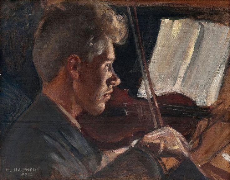 The Athenaeum - The Violinist (Pekka Halonen - )