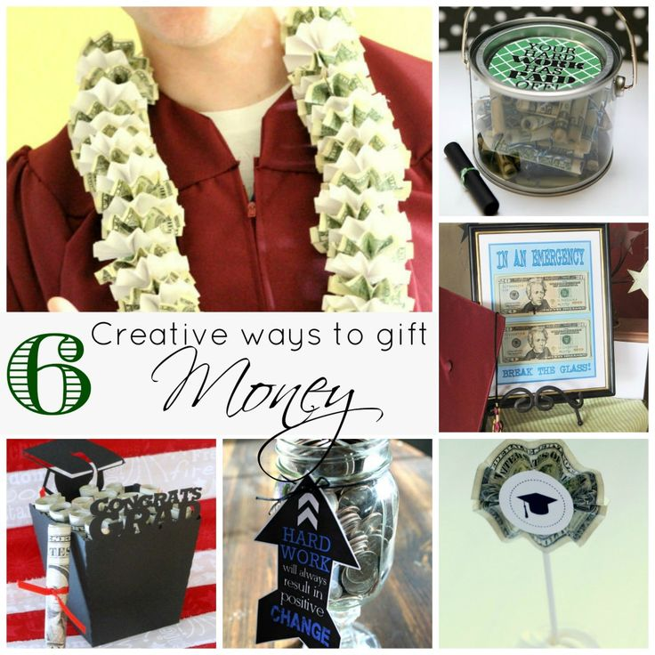 Graduation season is coming!  Giving Money is a very useful grad gift but you can still get creative. Here are some fun ways to gift money!  If you are looking for more graduation gift ideas consider this post Five ways to celebrate your graduate I shared last year.