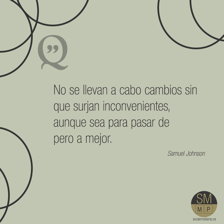 #socialmediamp #citas Samuel Johnson