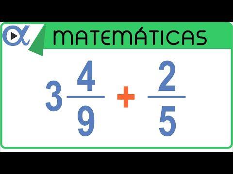 Multiplicación de fracciones mixtas | Aritmética - Vitual - YouTube