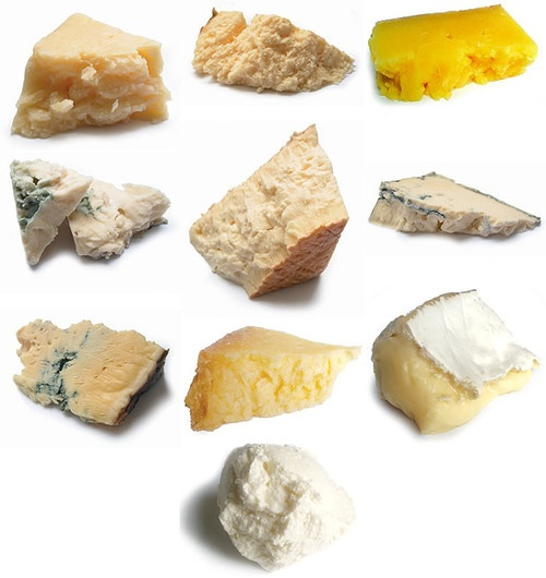 1 isle of mull cheddar      2 grimbister      3 blarliath      4 lanark blue      5 criffel      6 strathdon blue      7 dunsyre blue      8 anster      9 clava connage crowdie      cheese      food      food photography      scottish cheese      scottish cheeses      top left to bottom right