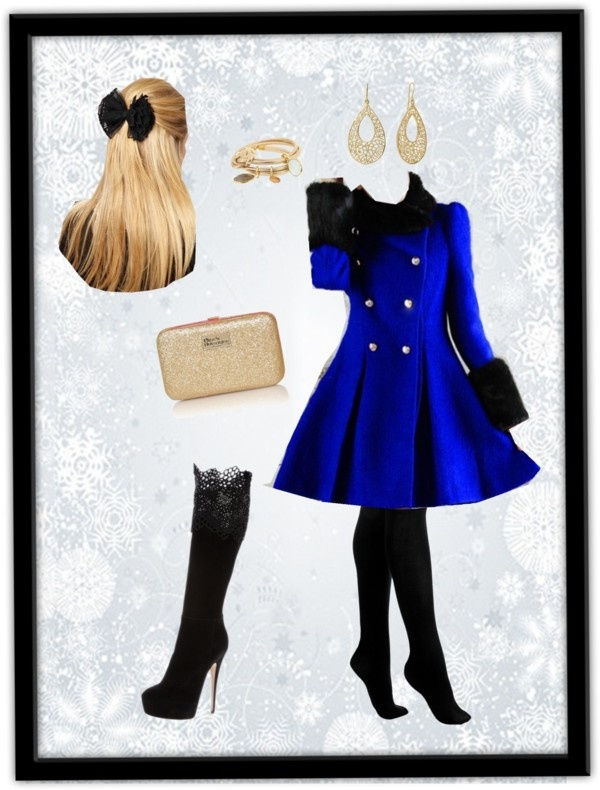 """Winter Wonderland :)"" by anya394 ❤ liked on Polyvore"