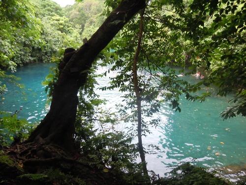 Blue Lagoon in Vanuatu