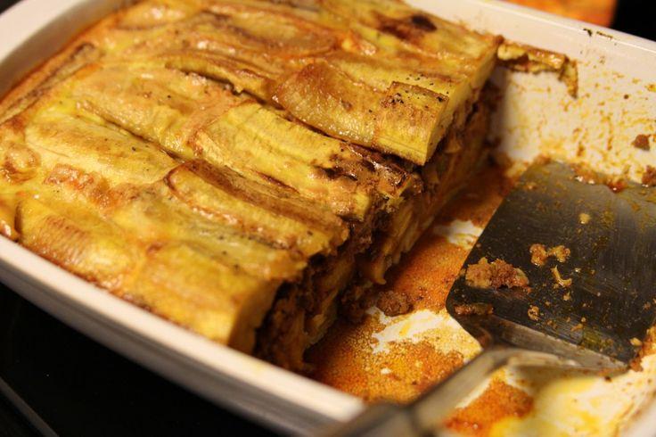 Puerto Rican Plantain Lasagna (Pastelon)  | The Paleo Mom
