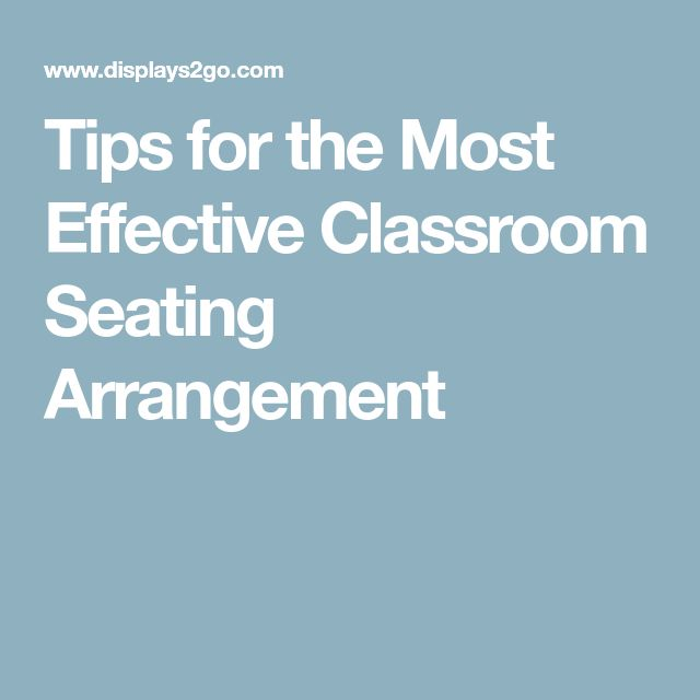 Best 25+ Middle school classroom arrangement ideas on Pinterest - classroom seating arrangement templates