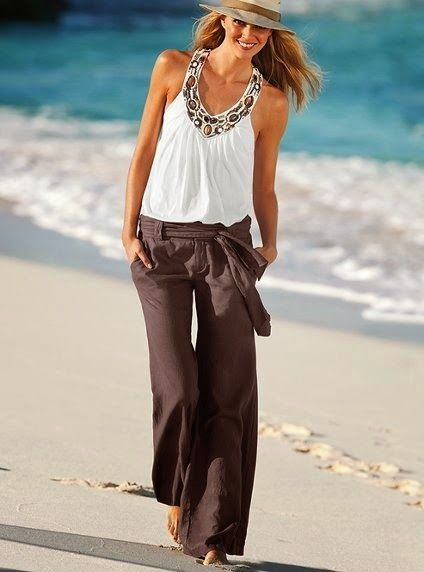 stylish pants outfit for womens 2014
