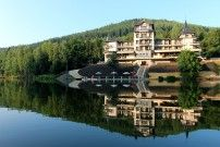 Karlovy Vary (Carlsbad) - Hotel Retro Riverside. Prices start around $150. http://www.retroriverside.cz