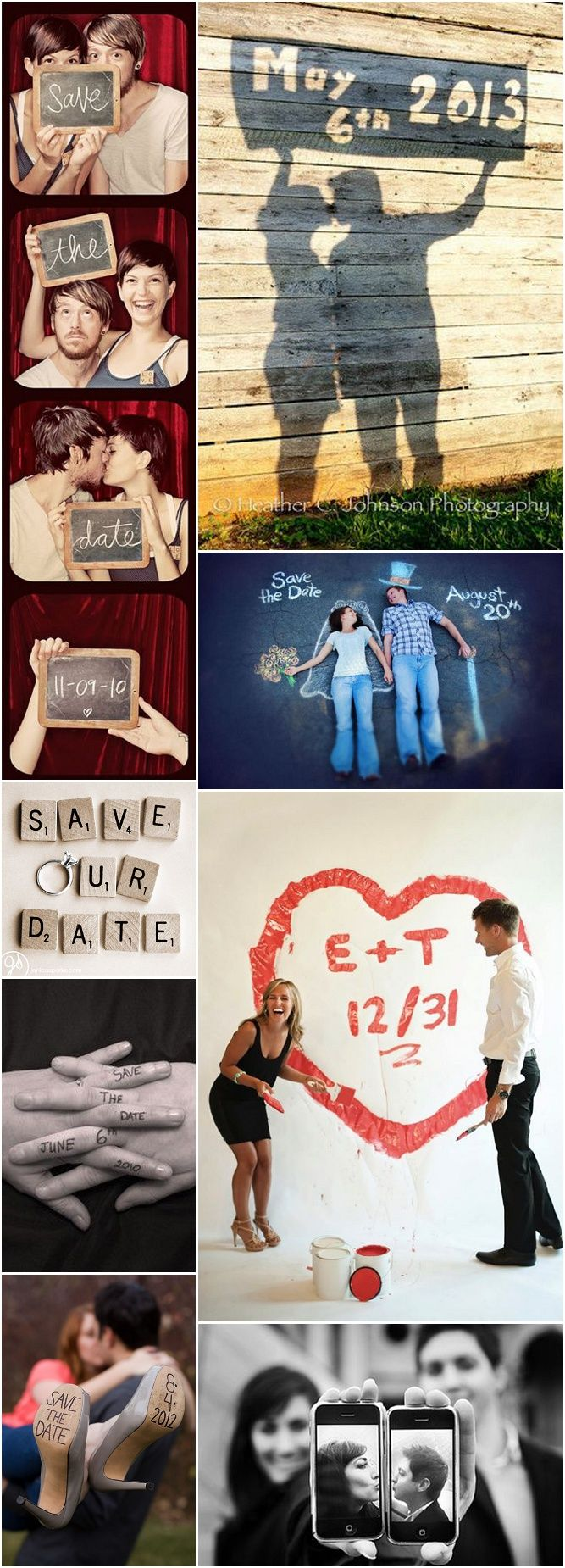 Super cute and budget-friendly Save the Date ideas for DIY Brides! I