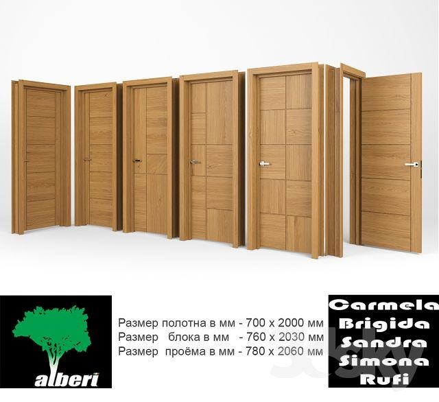 """Interior doors """"ALBERI"""""""