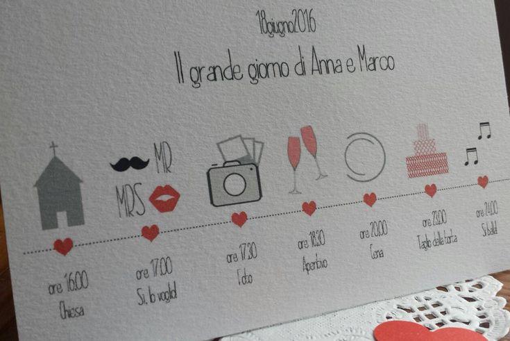 "10 Programma matrimonio ""Hipster wedding"" - 10 Timeline wedding program ""Hipster wedding"" di ZiaBu su Etsy"