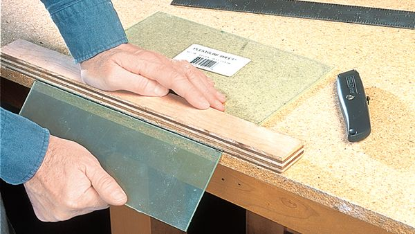 Using Plexigas in a project and want to know the best way to cut it? HANDY has the answer.