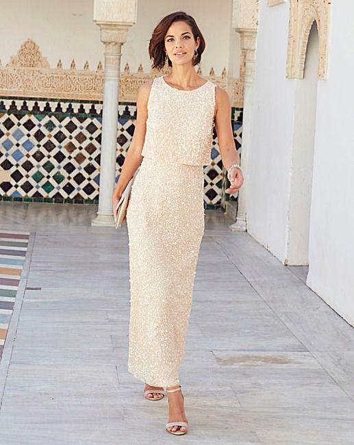 Joanna Hope Sequin Maxi Dress | J D Williams