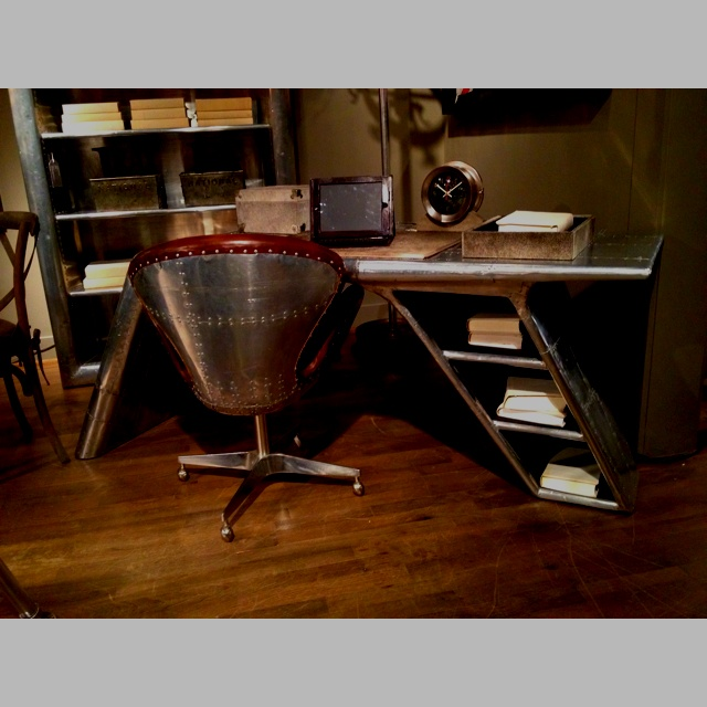 Desk I Love 80s : Restoration hardware blackhawk collection desk not sure