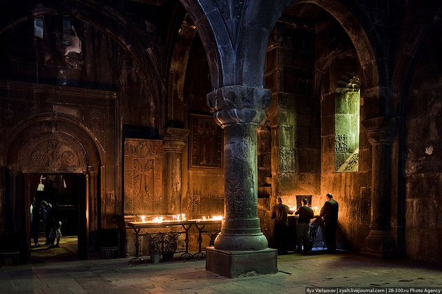 The monastery of Geghard, Armenia