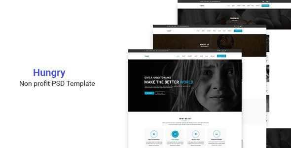 Hungry - Nonprofit PSD Template - Charity Nonprofit Download here : https://themeforest.net/item/hungry-nonprofit-psd-template/19836221?s_rank=243&ref=Al-fatih
