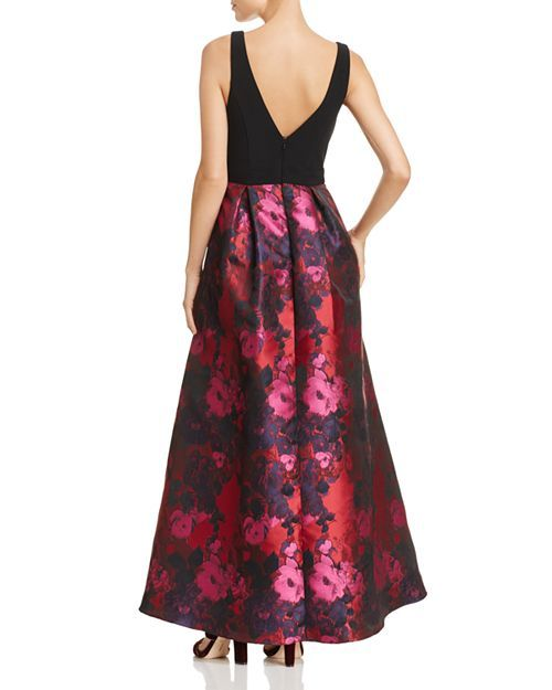e66c6e4da550 Avery G - Floral High Low Gown