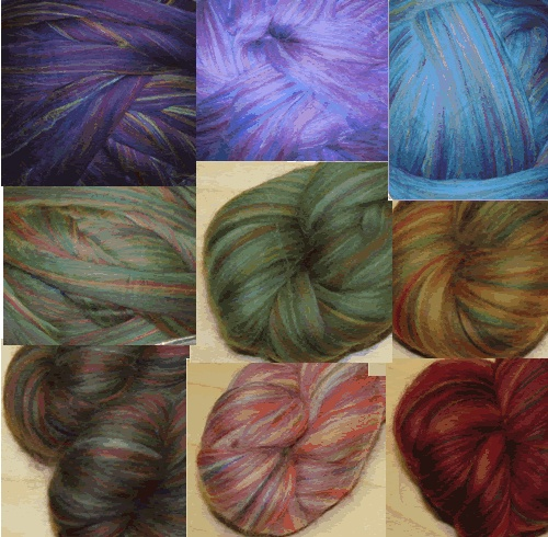 Ashland bay Merino Multi blended colors