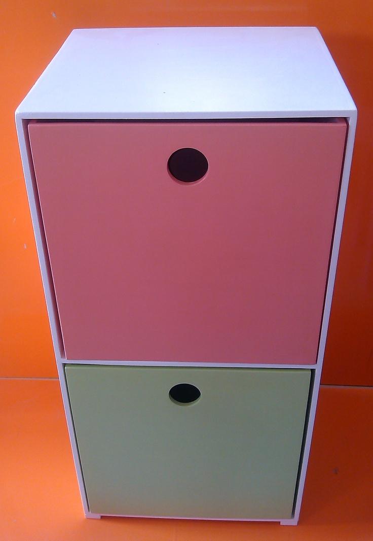 Módulos Organizadores con cubos interiores.
