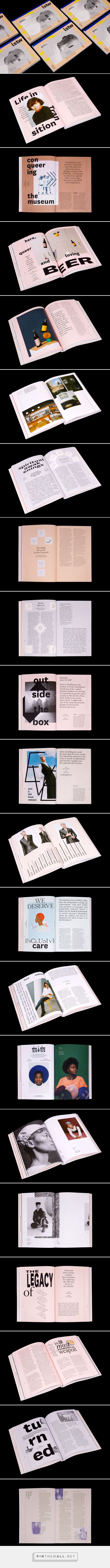 Lez Spread The Word MAG on Behance... - a grouped images picture - Pin Them All