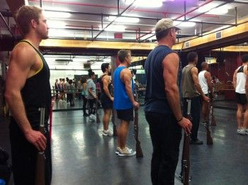 Rehearsals week two — Rifle drills, obstacle courses and an ever evolving show