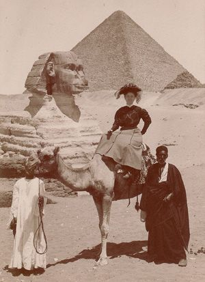 Tourism in Egypt 1800's
