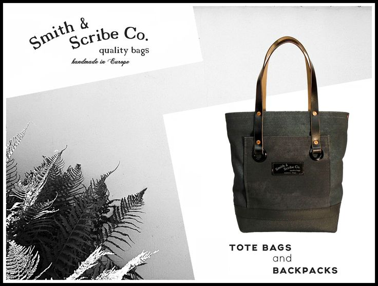 Smith & Scribe Co. prepares street bags characteristic for the mood of the first half of the 20th century.  #handdyecanvas #cottoncanvas #vintagebag #1920's #1930's #1940's #classicbag #italianleather #copperrivet