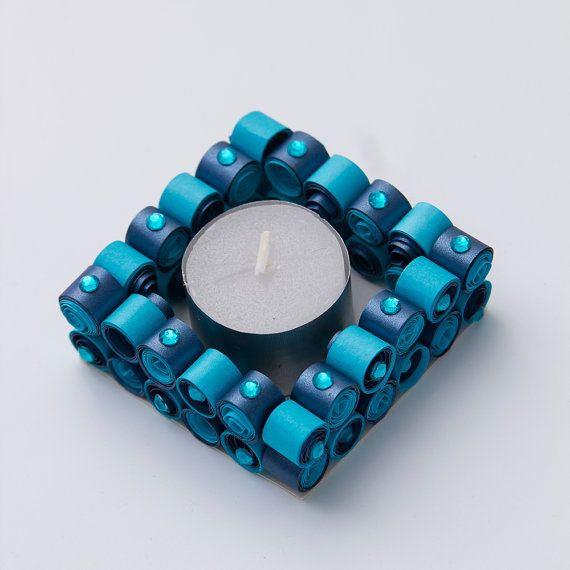 Quilling Diya (Candle Holder) - a modern way to light up and decor this diwali