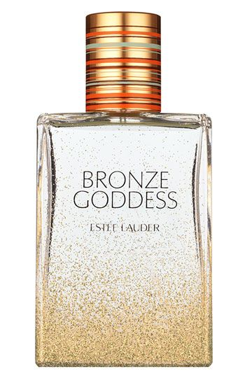 Bronze Goddess. This perfume is an essential summer product! The scent makes you daydream of somewhere tropical!