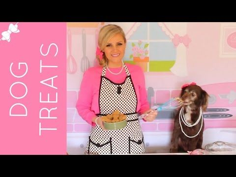 Homemade All-Natural Peanut Butter Dog Treats - YouTube