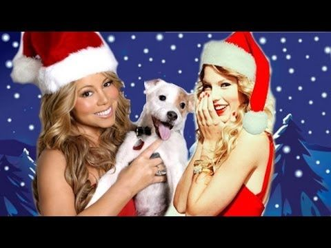 When Celebs Sing CHRISTMAS SONGS! (Who Does it Best?) - YouTube   Some are good...Taylor Swift, not so much