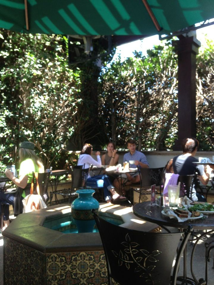 Urth Caffé in Santa Monica, CA