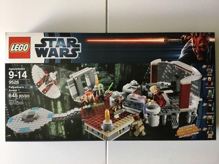 LEGO 9526 STAR WARS PALPATINES ARREST Factory Sealed NEW MISB