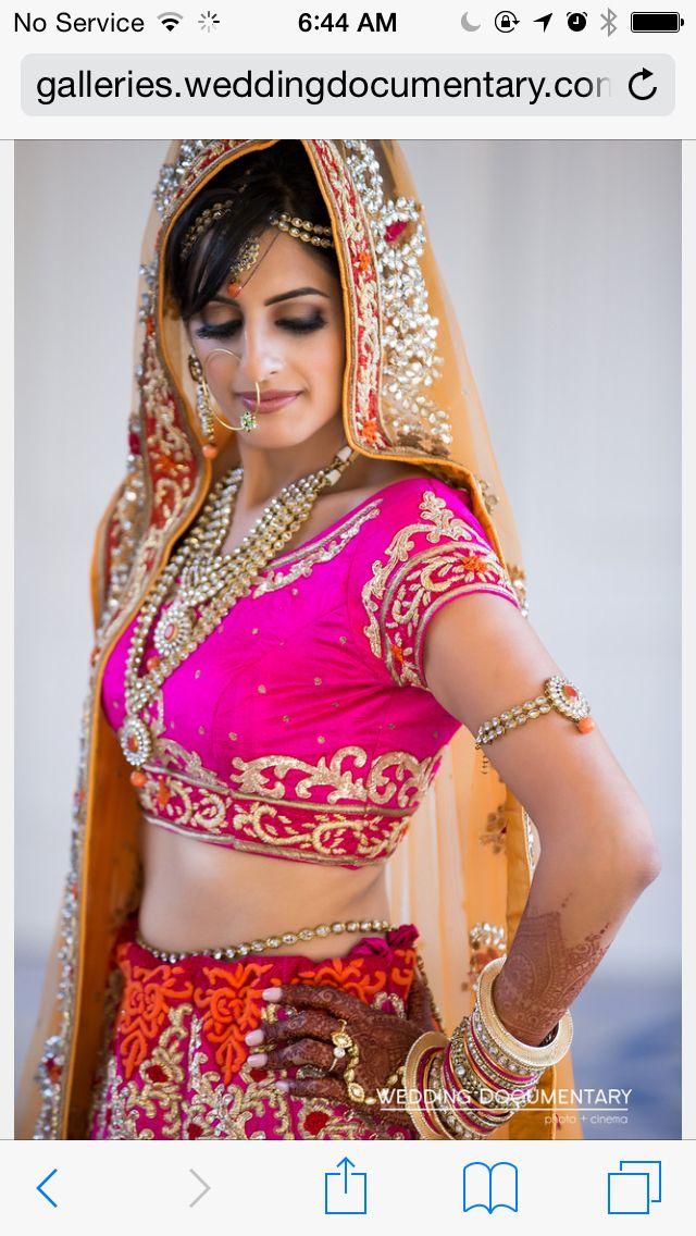 My Beautiful Daughter on her Wedding Day 8th November 2014 Hari Bol !!