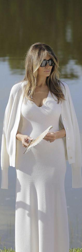 Melania Trump in Ralph Lauren