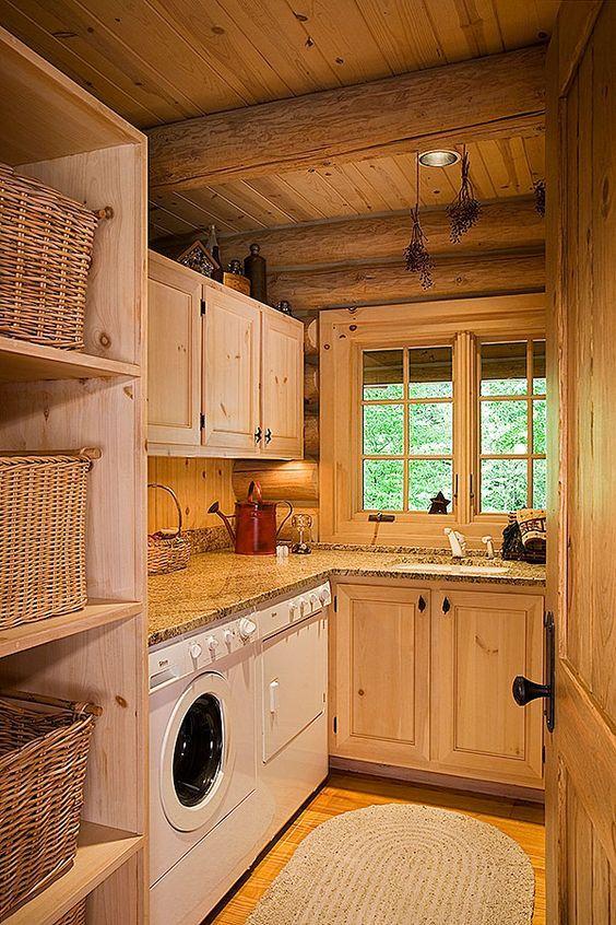 23 Wild Log Cabin Decor Ideas - Best of DIY Ideas