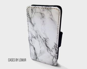 MARBLE Iphone 5s Wallet Case Leather Iphone 5s Case by LemurCases