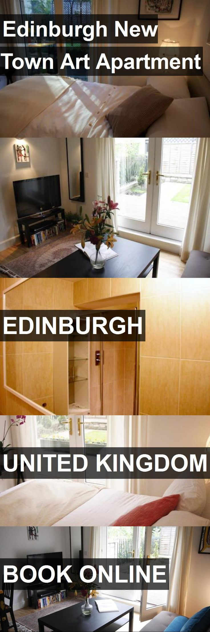 Edinburgh New Town Art Apartment in Edinburgh, United Kingdom. For more information, photos, reviews and best prices please follow the link. #UnitedKingdom #Edinburgh #travel #vacation #apartment